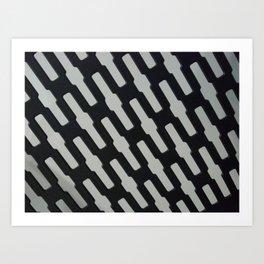 Chain link Art Print
