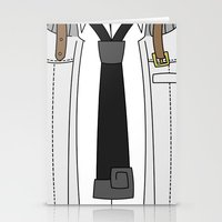 soul eater Stationery Cards featuring Soul Eater Evans Spartoi Uniform by Bunny Frost