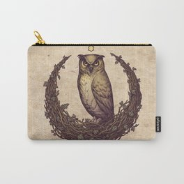 Owl Hedera Moon Carry-All Pouch
