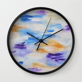 Hold back the river Wall Clock