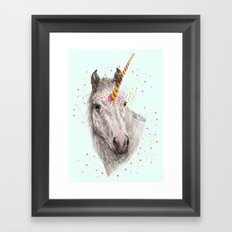 Unicorn V Framed Art Print