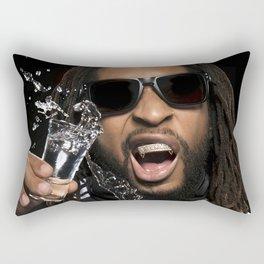Bandwagon Asia Lil Jon,  Artist,  Bandwagon, Music media championing, rap, Lil Jon - Crunk Rap Rectangular Pillow