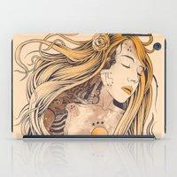 sleeping beauty iPad Cases featuring Sleeping Beauty by Azrhon