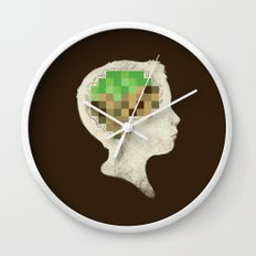 Mind Crafted Wall Clock