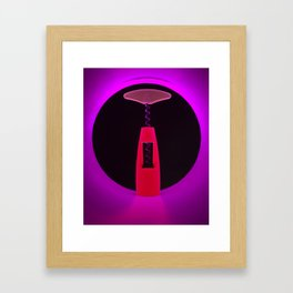 Corkscrew Framed Art Print