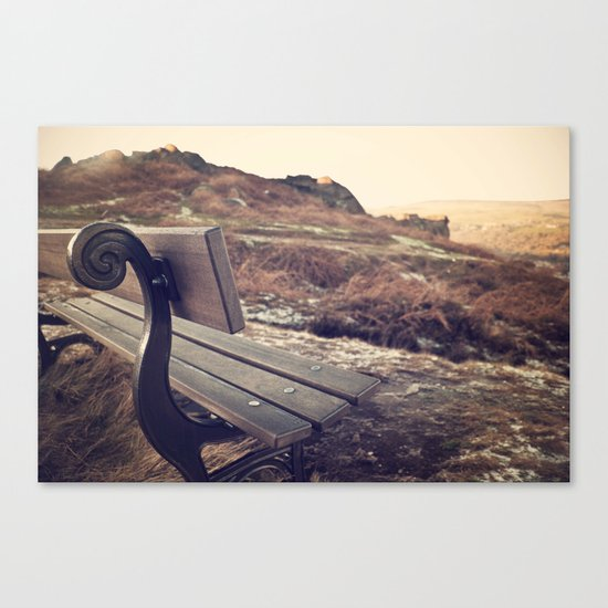 The Sitting Place Canvas Print