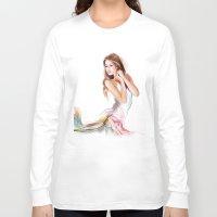 fairy Long Sleeve T-shirts featuring fairy by tatiana-teni