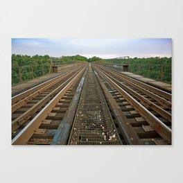Atop High Bridge Canvas Print