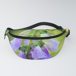 Light Purple Foxglove Fanny Pack