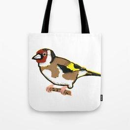 Goldfinch - European Goldfinch Tote Bag