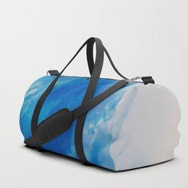 Explosive wave Duffle Bag