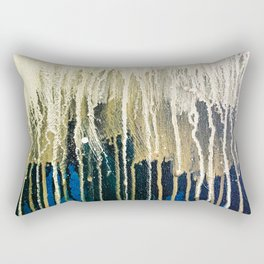 Irish Emerald Gold Rectangular Pillow