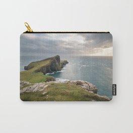 Landscape coastline ocean view Neist Point Scotland Carry-All Pouch