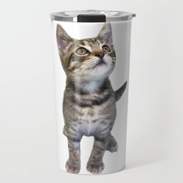 Tabby Kitten Travel Mug