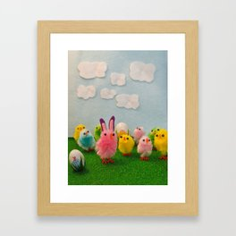 Hoppy Easter! Framed Art Print