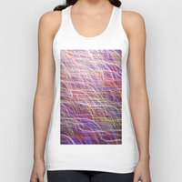 glitter Tank Tops featuring Glitter 4531 by Cecilie Karoline