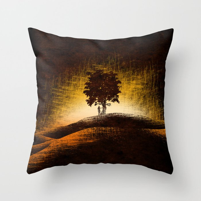 i love trees Throw Pillow