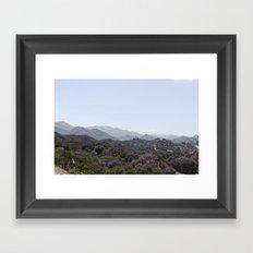 Los Angeles IV Framed Art Print