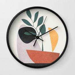 Abstract Shapes No.23 Wall Clock