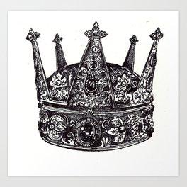 Crown #2 Art Print
