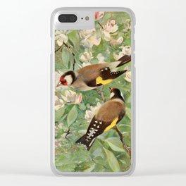 Kuhnert, Friedrich Wilhelm (1865-1926) - Wild Life of the World 1916 v.1 (Goldfinch) Clear iPhone Case