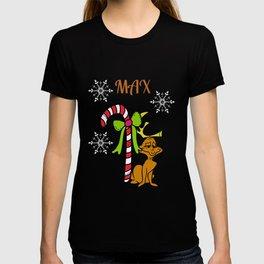 The Grinch Dog Max T-shirt