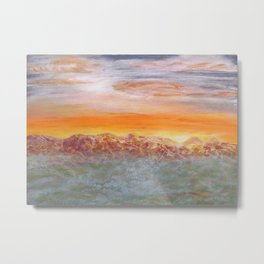 Menses 95: On Distant Lands Metal Print