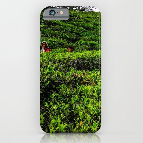 On the tea plantation iPhone & iPod Case
