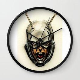 Ant-man Airbrush Portrait Wall Clock