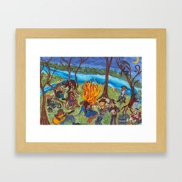 KEGGA Framed Art Print