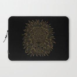 lion / black Laptop Sleeve