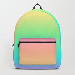 Pastel Rainbow 2 Backpack