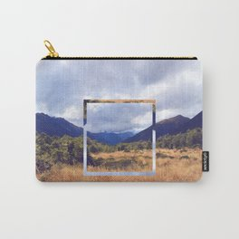 New Zealand Square Carry-All Pouch