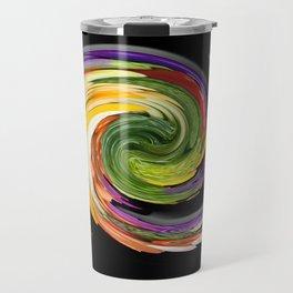The whirl of life, W1.9B Travel Mug