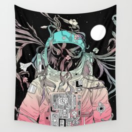 Life is Invading My Space Wall Tapestry
