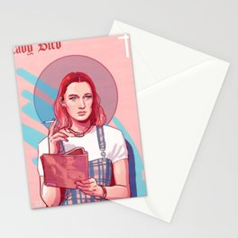 Lady Bird Pink Stationery Cards