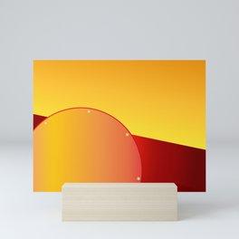 Le soleil Mini Art Print