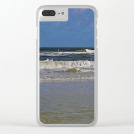 Looking for Peace and Quiet Clear iPhone Case