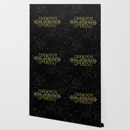 Pew Pew Stars Wars Wallpaper