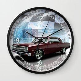 1965 Chevrolet Chevelle SS Decorative Wall Clock (012ac) Wall Clock