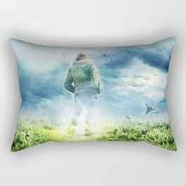Fighter Pilot Rectangular Pillow