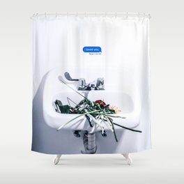 lany i loved you Shower Curtain