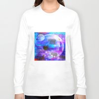 paradise Long Sleeve T-shirts featuring paradise by haroulita