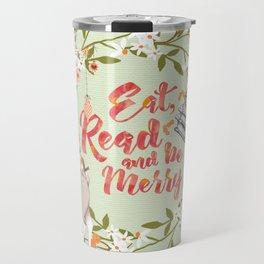 Eat, Read & Be Merry - Deer Travel Mug