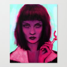 Mia Canvas Print