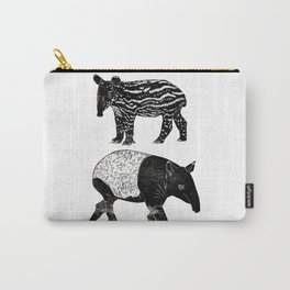 Malayan Tapir & Baby Carry-All Pouch