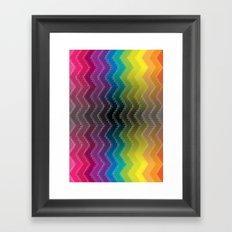 Zigzag 2 Framed Art Print