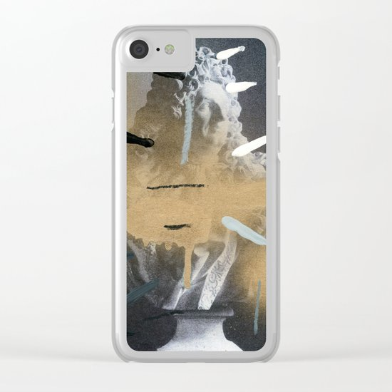 Composition 531 Clear iPhone Case