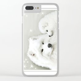"""Christmas  """" Together as One """" Clear iPhone Case"""