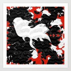 FISH PARADISE v4 Art Print